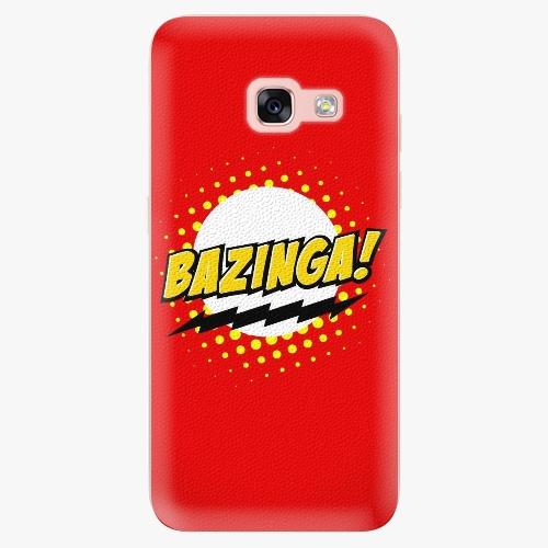 Silikonové pouzdro iSaprio - Bazinga 01 na mobil Samsung Galaxy A3 2017