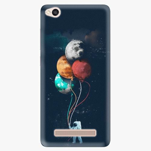 Silikonové pouzdro iSaprio - Balloons 02 na mobil Xiaomi Redmi 4A