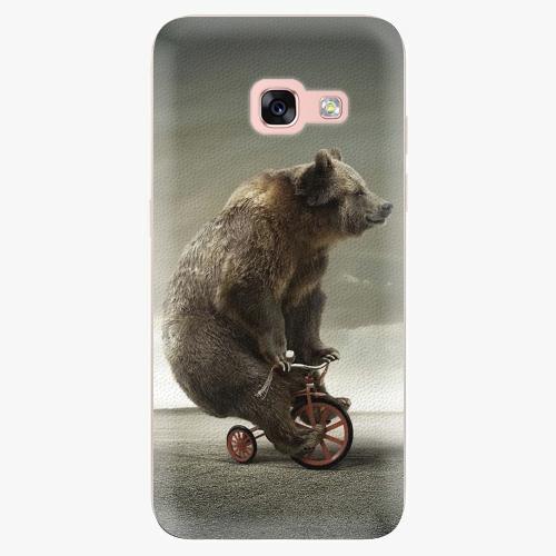 Silikonové pouzdro iSaprio - Bear 01 na mobil Samsung Galaxy A3 2017