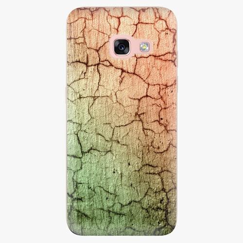 Silikonové pouzdro iSaprio - Cracked Wall 01 na mobil Samsung Galaxy A3 2017