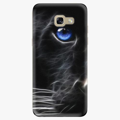 Silikonové pouzdro iSaprio - Black Puma na mobil Samsung Galaxy A5 2017