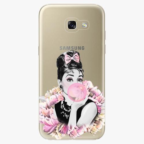 Silikonové pouzdro iSaprio - Pink Bubble na mobil Samsung Galaxy A5 2017