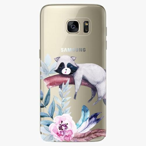 Silikonové pouzdro iSaprio - Lazy Day na mobil Samsung Galaxy S7 Edge (Silikonový obal, pouzdro, kryt iSaprio s motivem Lazy Day na mobilní telefon Samsung Galaxy S7 Edge)