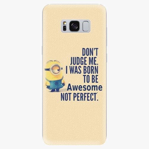 Silikonové pouzdro iSaprio - Be Awesome na mobil Samsung Galaxy S8
