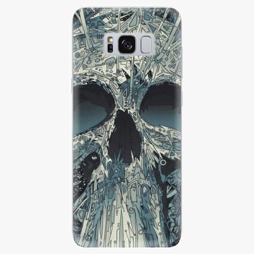 Silikonové pouzdro iSaprio - Abstract Skull na mobil Samsung Galaxy S8