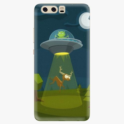 Silikonové pouzdro iSaprio - Alien 01 na mobil Huawei P10