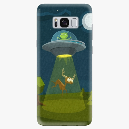 Silikonové pouzdro iSaprio - Alien 01 na mobil Samsung Galaxy S8