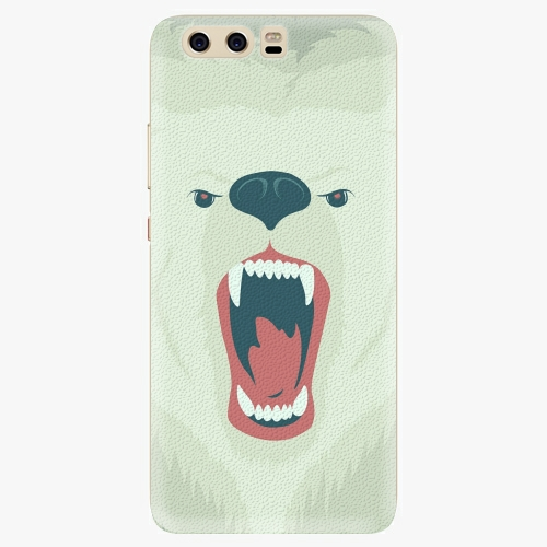 Silikonové pouzdro iSaprio - Angry Bear na mobil Huawei P10