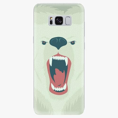 Silikonové pouzdro iSaprio - Angry Bear na mobil Samsung Galaxy S8