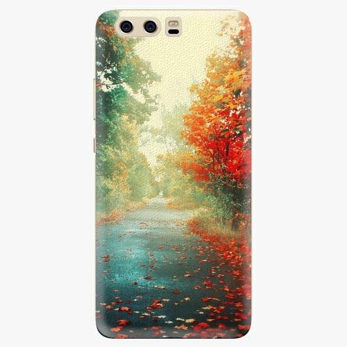 Silikonové pouzdro iSaprio - Autumn 03 na mobil Huawei P10