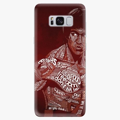 Silikonové pouzdro iSaprio - Bruce Lee na mobil Samsung Galaxy S8