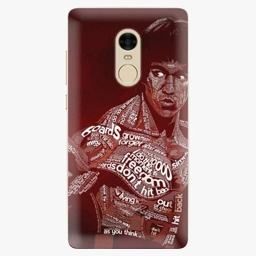 Silikonové pouzdro iSaprio - Bruce Lee na mobil Xiaomi Redmi Note 4