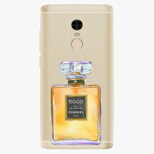 Silikonové pouzdro iSaprio - Chanel Gold na mobil Xiaomi Redmi Note 4
