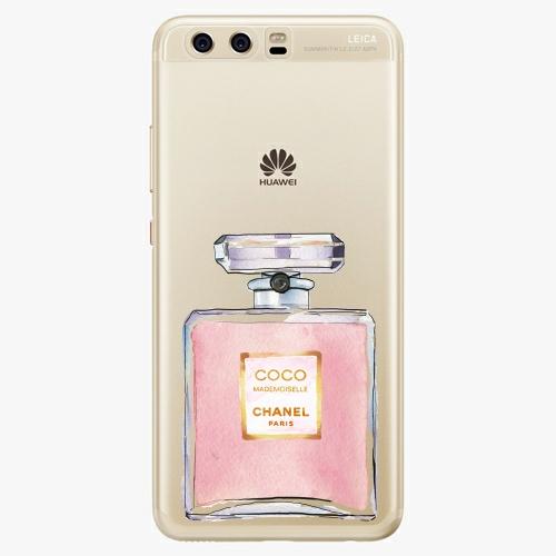 Silikonové pouzdro iSaprio - Chanel Rose na mobil Huawei P10