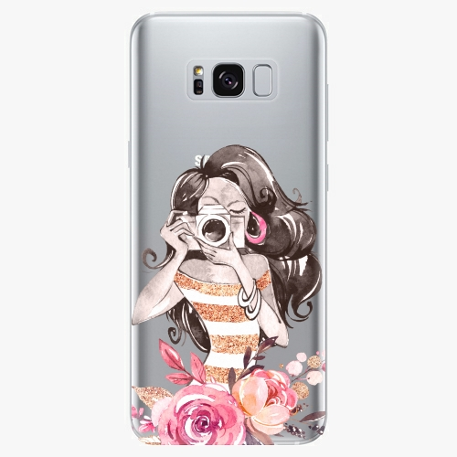 Silikonové pouzdro iSaprio - Charming na mobil Samsung Galaxy S8