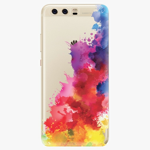 Silikonové pouzdro iSaprio - Color Splash 01 na mobil Huawei P10