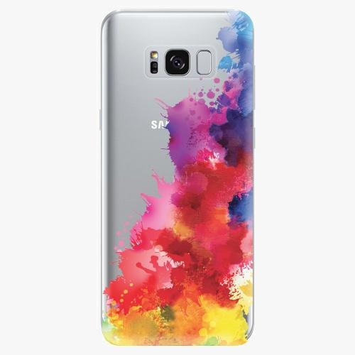 Silikonové pouzdro iSaprio - Color Splash 01 na mobil Samsung Galaxy S8