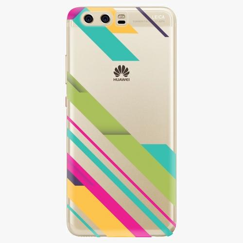 Silikonové pouzdro iSaprio - Color Stripes 03 na mobil Huawei P10