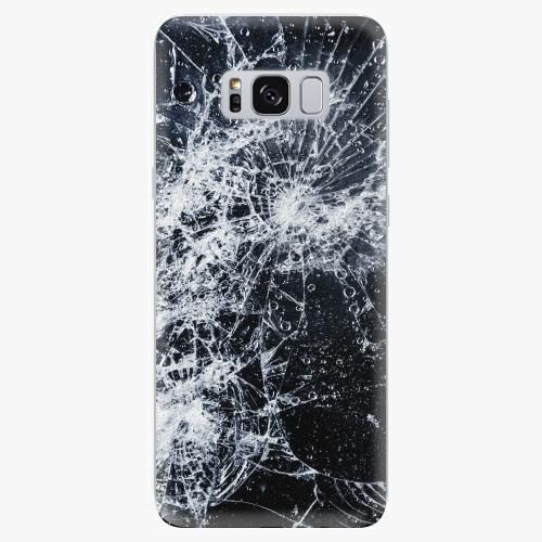 Silikonové pouzdro iSaprio - Cracked na mobil Samsung Galaxy S8
