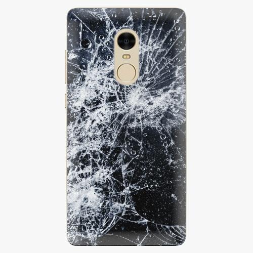 Silikonové pouzdro iSaprio - Cracked na mobil Xiaomi Redmi Note 4