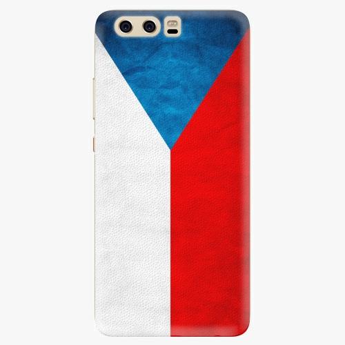 Silikonové pouzdro iSaprio - Czech Flag na mobil Huawei P10