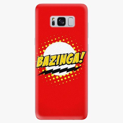 Silikonové pouzdro iSaprio - Bazinga 01 na mobil Samsung Galaxy S8