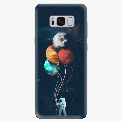 Silikonové pouzdro iSaprio - Balloons 02 na mobil Samsung Galaxy S8