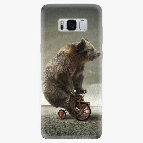 Silikonové pouzdro iSaprio - Bear 01 na mobil Samsung Galaxy S8