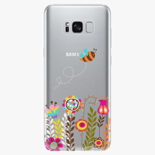 Silikonové pouzdro iSaprio - Bee 01 na mobil Samsung Galaxy S8