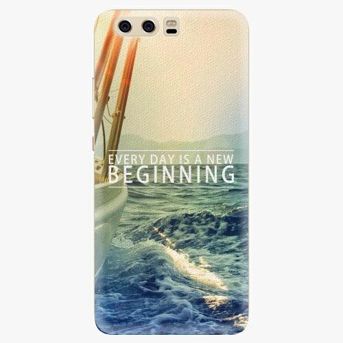 Silikonové pouzdro iSaprio - Beginning na mobil Huawei P10