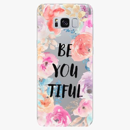 Silikonové pouzdro iSaprio - BeYouTiful na mobil Samsung Galaxy S8