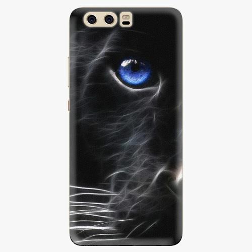 Silikonové pouzdro iSaprio - Black Puma na mobil Huawei P10