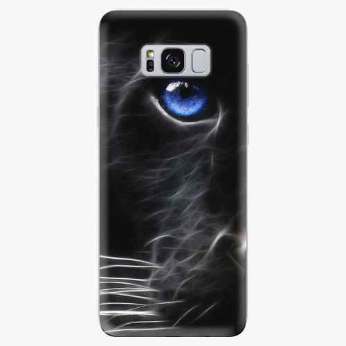Silikonové pouzdro iSaprio - Black Puma na mobil Samsung Galaxy S8