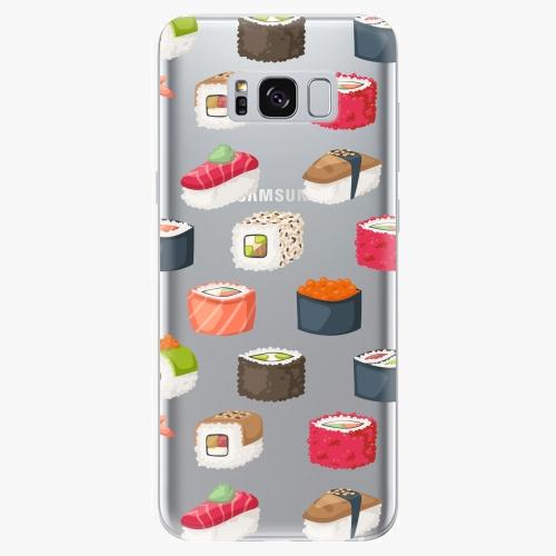 Silikonové pouzdro iSaprio - Sushi Pattern  na mobil Samsung Galaxy S8