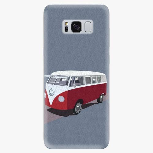 Silikonové pouzdro iSaprio - VW Bus na mobil Samsung Galaxy S8