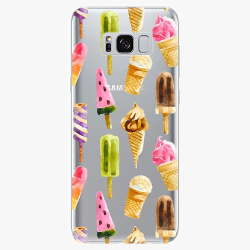 Silikonové pouzdro iSaprio - Ice Cream na mobil Samsung Galaxy S8