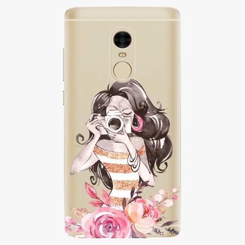 Silikonové pouzdro iSaprio - Charming na mobil Xiaomi Redmi Note 4