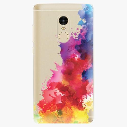 Silikonové pouzdro iSaprio - Color Splash 01 na mobil Xiaomi Redmi Note 4
