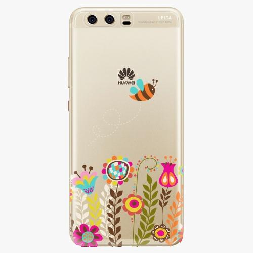 Silikonové pouzdro iSaprio - Bee 01 na mobil Huawei P10
