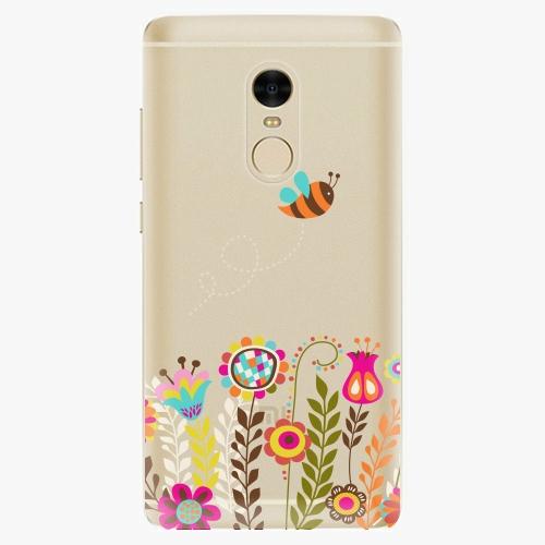 Silikonové pouzdro iSaprio - Bee 01 na mobil Xiaomi Redmi Note 4