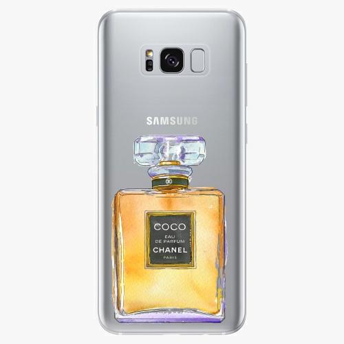 Silikonové pouzdro iSaprio - Chanel Gold na mobil Samsung Galaxy S8