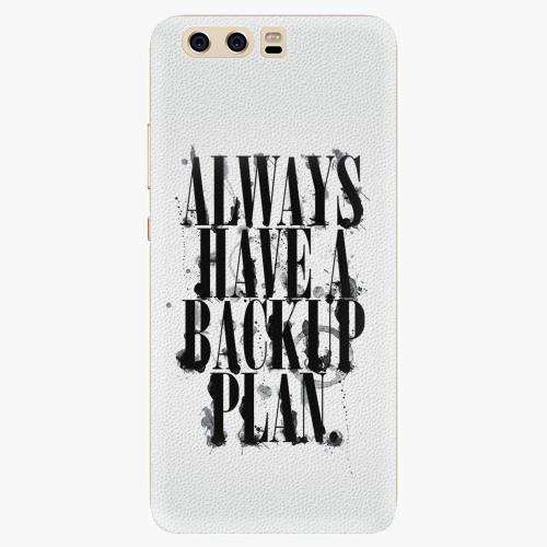 Silikonové pouzdro iSaprio - Backup Plan na mobil Huawei P10