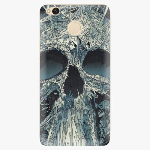 Silikonové pouzdro iSaprio - Abstract Skull na mobil Xiaomi Redmi 4X