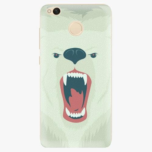 Silikonové pouzdro iSaprio - Angry Bear na mobil Xiaomi Redmi 4X
