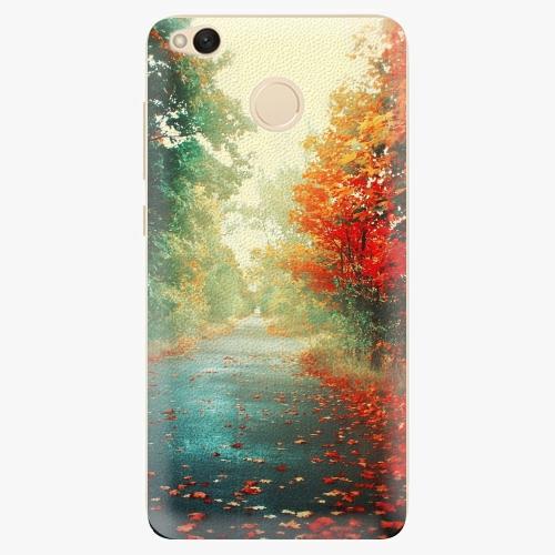 Silikonové pouzdro iSaprio - Autumn 03 na mobil Xiaomi Redmi 4X