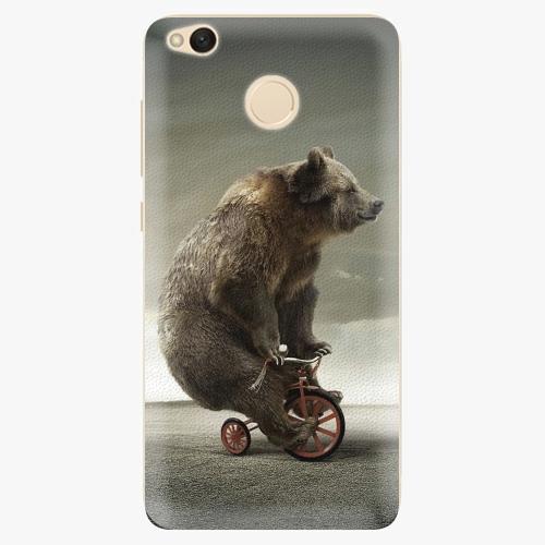 Silikonové pouzdro iSaprio - Bear 01 na mobil Xiaomi Redmi 4X