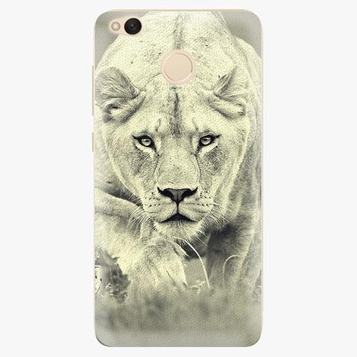 Silikonové pouzdro iSaprio - Lioness 01 na mobil Xiaomi Redmi 4X