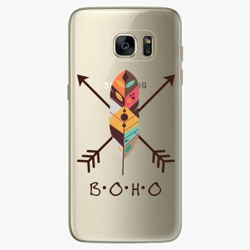 Silikonové pouzdro iSaprio - BOHO na mobil Samsung Galaxy S7 Edge (Silikonový obal, pouzdro, kryt iSaprio s motivem BOHO na mobilní telefon Samsung Galaxy S7 Edge)