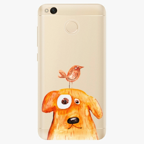 Silikonové pouzdro iSaprio - Dog And Bird na mobil Xiaomi Redmi 4X