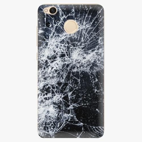 Silikonové pouzdro iSaprio - Cracked na mobil Xiaomi Redmi 4X